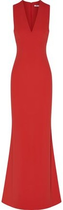 Alexander Wang Cutout Crepe Maxi Dress