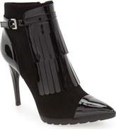 Calvin Klein 'Makena' Pointy Toe Kiltie Bootie (Women)
