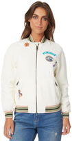 Roxy Womens Muse Bomber Jacket Natural