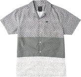 RVCA Men's Triples Short Sleeve Shirt