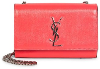 Saint Laurent Small Kate Neon Leather Shoulder Bag