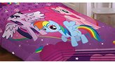 Hasbro My Little Pony Equestria Girls Twin Comforter (Reversible 2 in 1)