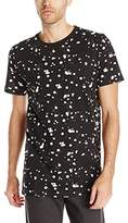 Split Men's Seize Printed Knit Short Sleeve Tee