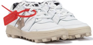 Off-White Mountain Cleats leather sneakers