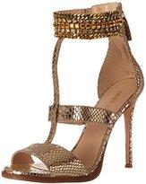 Nine West Women's Halonia Metallic Heeled Sandal