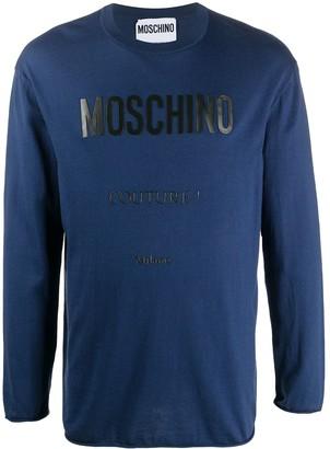 Moschino logo-print T-shirt