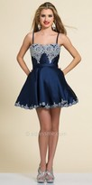 Dave and Johnny Semi-Sweetheart Fit and Flare Homecoming Dress