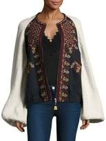 Free People Two-Faced Cotton Jacket
