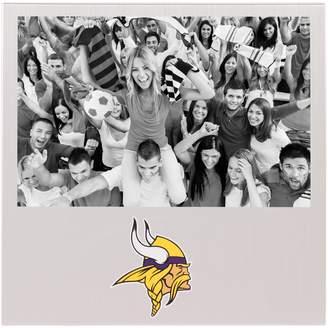 "Unbranded Minnesota Vikings 4"" x 6"" Aluminum Picture Frame"