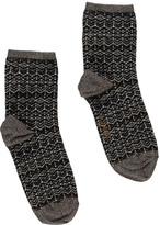 Sessun Jacquard Napa Socks