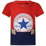 Converse ConverseBaby Boys Red & Navy Cotton Top