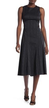 Diane von Furstenberg Clementine Tonal Print A-Line Dress