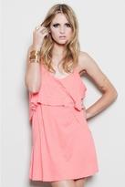 Blue Life Bachelorette Dress in Peach
