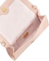 Tory Burch Thea Fold-Over Crossbody Bag, Porcelain Pink