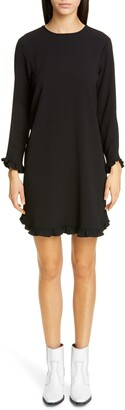 Ganni Clark Long Sleeve Dress