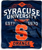 Bed Bath & Beyond Syracuse University Raschel Throw Blanket