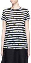 Proenza Schouler Ikat stripe print T-shirt