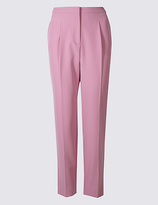 Limited Edition Pleated Tapered Leg Trousers