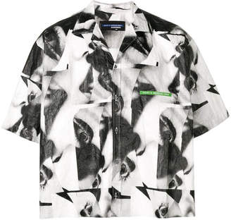 DSQUARED2 mert & marcus 1994 x abstract boxy shirt