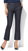 New York & Co. 7th Avenue Pant - Flared Ankle - Modern - Hidden Blue