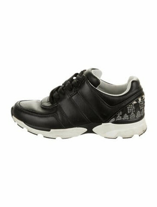 Chanel Leather Low-Top Sneakers Chunky Sneakers Black