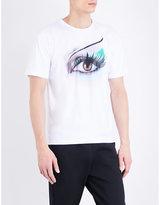 Kenzo Airbrush Eye Satin T-shirt