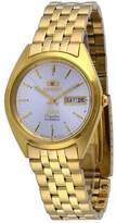 Orient #FAB0000FW Men's 3 Star Standard Gold Tone Dial Automatic Watch