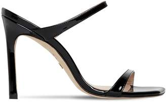 Stuart Weitzman 75MM PATENT LEATHER SANDALS