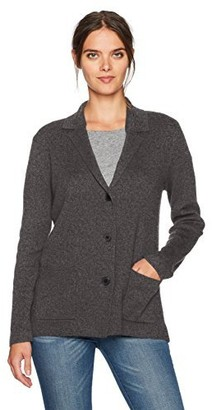 Jones New York Women's Notch Collar Sweater Jacket