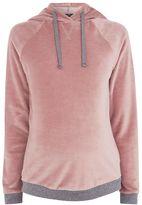 Topshop Maternity velour range hoodie