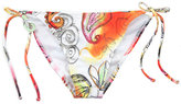 Full Tilt Watercolor Bikini Bottoms