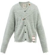 Thumbnail for your product : Miharayasuhiro Mihara Yasuhiro - Brushed Knitted Cardigan - Green