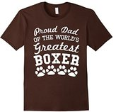 Men's Proud Dad Of The World's Greatest Boxer T-Shirt