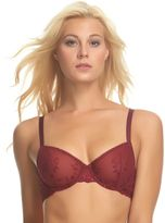 Apt. 9 Bras: Embroidered Unlined Sheer Demi Bra