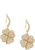 Aurelie Bidermann Clover diamond earrings
