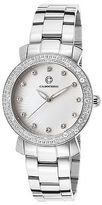 Cabochon 16604-22 Women's Stainless Steel White Dial
