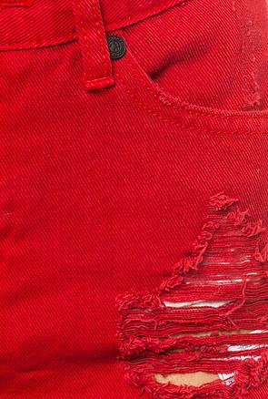 One Teaspoon The Aztec Hawks in Red