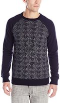 Scotch & Soda Men's Long Sleeve Pullover In Felpa Knit Mixed Quality