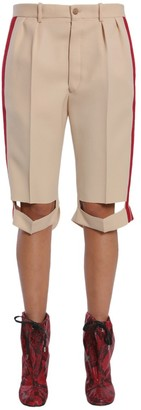 Maison Margiela Side-Band Tailored Shorts