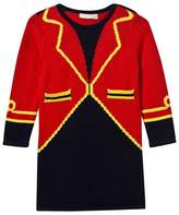 Stella McCartney Red Bow Ringmaster Knit Dress