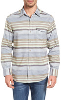 Tommy Bahama Breaker Stripe Standard Fit Sport Shirt