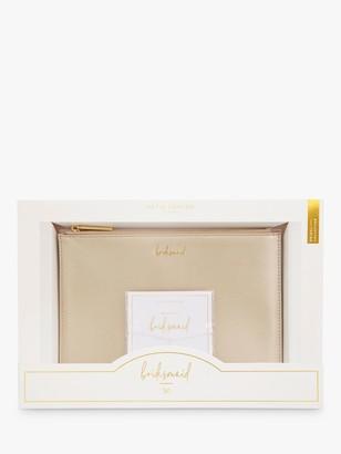 Katie Loxton Bridesmaid Pouch Bag & Bracelet Gift Set