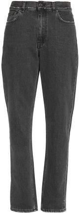 Acne Studios Distressed Mid-Rise Straight-Leg Jeans