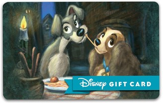 Disney Lady and the Tramp Gift Card