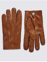 M&S Collection Leather Driving Gloves