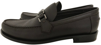 Louis Vuitton Brown Leather Flats