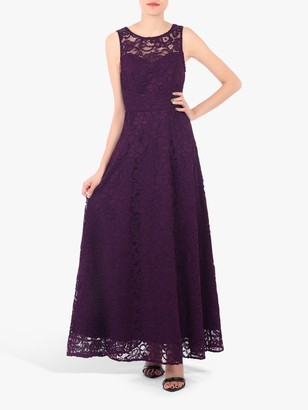 Jolie Moi Fit And Flare Lace Dress