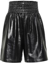 Bottega Veneta Leather Bermuda shorts