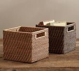 Pottery Barn Clive Tightweave Square Utility Basket
