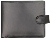Launer Made In England Leather Tab Wallet, Black